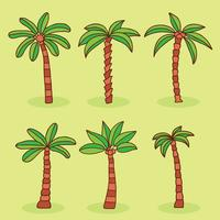 Palm Collection Collection Vector