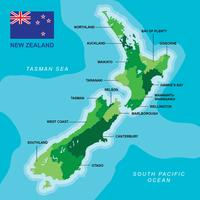 Nya Zeeland vektor