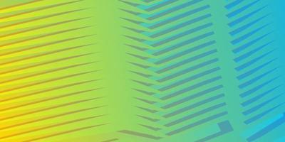 geometrischer abstrakter Hintergrund des blauen gelben Gradienten