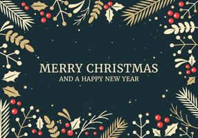 Kostenlose Weihnachten Vektor Hintergrund