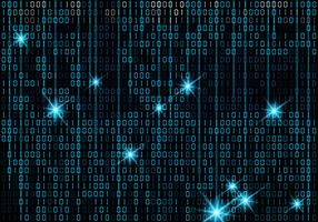 Matrix-Art-binärer Hintergrund
