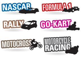 Motorsport-Titel vektor