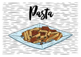 Hand gezeichnete Vektor-Lebensmittel-Illustration