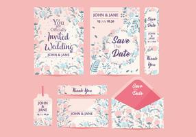 Hochzeit Save the Date Vol 2 Vektor