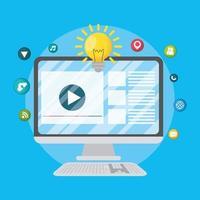 digital marknadsföringsbanner vektor