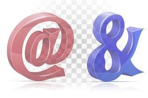e-post och teckenuppsättning