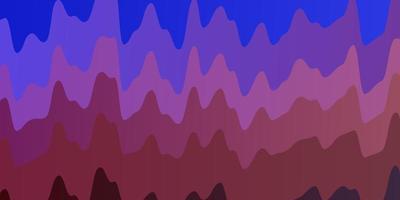 ljusblå, röd bakgrund med sneda linjer.