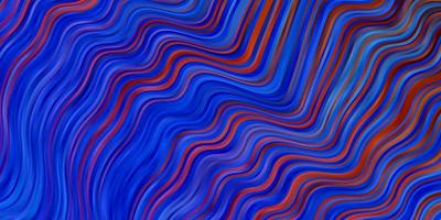 hellblaues Layout mit Kreisbogen. vektor