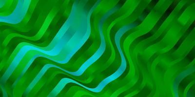 hellblaue, grüne Schablone mit schiefen Linien.