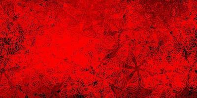mörk röd bakgrund med prickar.