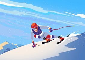 Vinter OS Sport vektor