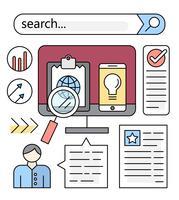 Linjär Search Browser