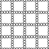 handritad, svart konturerade cirklar mönster