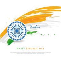 Happy Republic Day Hintergrund
