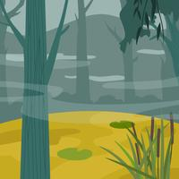 Bayou-Vektor-Illustration