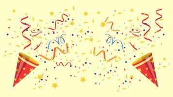 knick knacks konfetti vektor