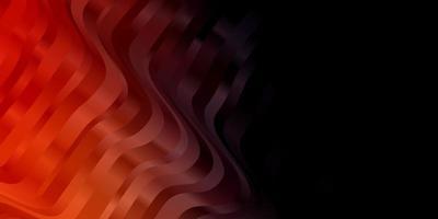 dunkelroter Hintergrund mit Kreisbogen.