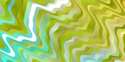 hellblauer, gelber Hintergrund mit Kreisbogen. vektor