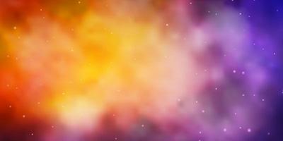 hellblaue, gelbe Textur mit schönen Sternen.