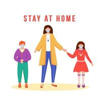 stanna hemma familj