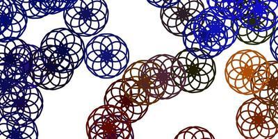 ljusblå bakgrund med prickar. vektor