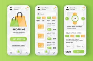 shoppinglösning neumorf design kit