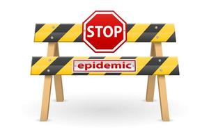 stoppbarriär för epidemi