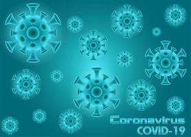pandemic coronavirus covid-19 bakgrund vektor