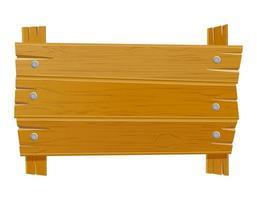 altes Retro-Vintage-Brett aus Holz