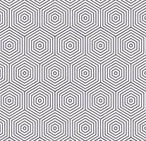 blaues Sechseck und Musterhintergrunddesign vektor