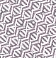 Schwarzweiss-Sechseckmusterhintergrund vektor