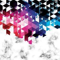 Marmor Textur Design mit geometrischen Linien