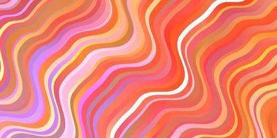 ljusrött, gult mönster med sneda linjer. vektor