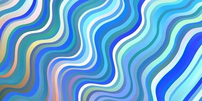 ljusblå, gul bakgrund med linjer.