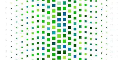 grünes Layout mit Linien, Rechtecken.