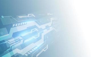 abstrakter digitaler High-Tech-Technologiehintergrund
