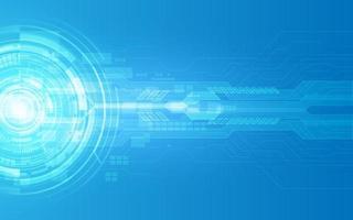 abstrakter technologischer Hintergrund