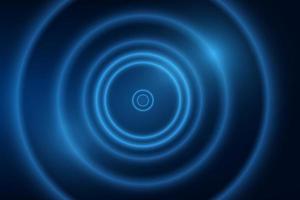 abstrakter dynamischer blauer Hintergrund vektor