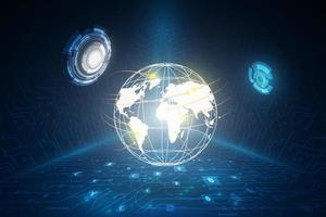 Geldüberweisung. globale Währung. Börse. Lager Vektor-Illustration. vektor