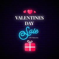 Alla hjärtans dag försäljning någon banner. vektor