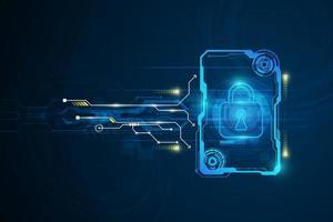 Hintergrund der abstrakten Technologie-Schaltung