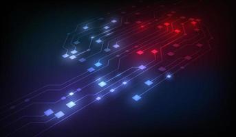 abstrakt futuristisk teknikbakgrund