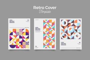 bauhaus retro cover design