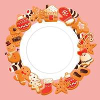 super niedliche Lebkuchenweihnachtsplätzchen kopieren Raumdesign