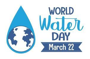 världens vattendag-ikon