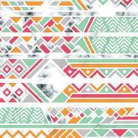 marmor textur design med vita geometriska linjer vektor