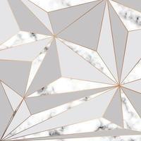Marmor Textur Design mit goldenen geometrischen Linien