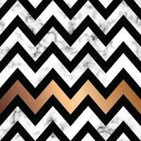Marmor Textur Design mit goldenen geometrischen Formen