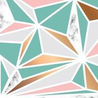 marmor textur design med geometriska former
