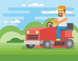 Gräsklippare Illustration